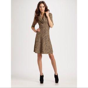 ♡ BCBGMAXAZRIA TALIA COWL NECK SWEATER DRESS ♡